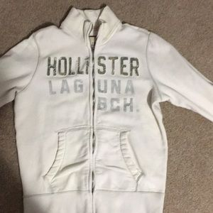 Adult Large Hollister zip up sweatshirt